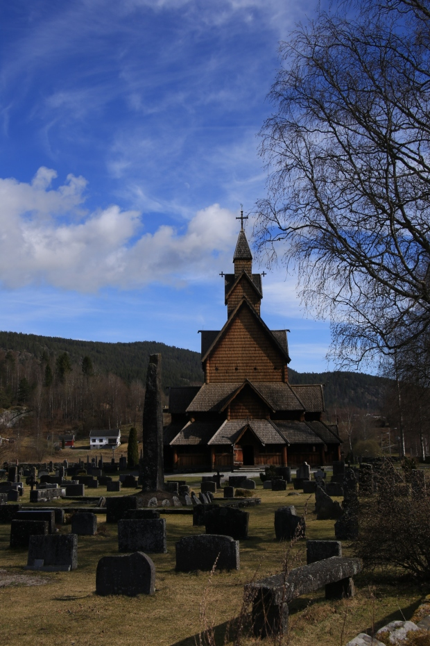 Stave church in Nottoden